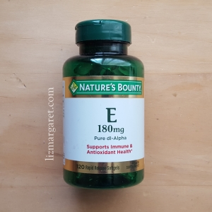 nature's bounty vitamin e_edit