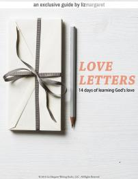 Love Letters Devotional by LizMargaret